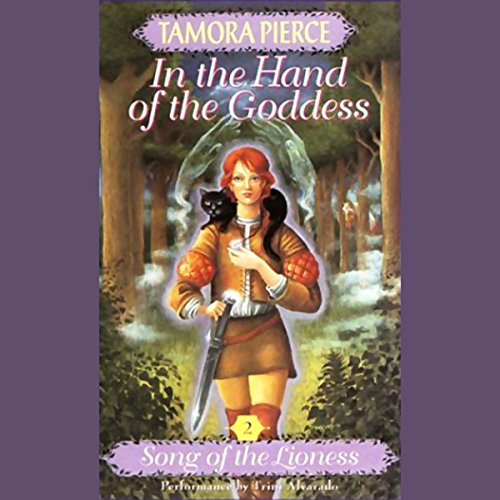 In the Hand of the Goddess audiobook cover art