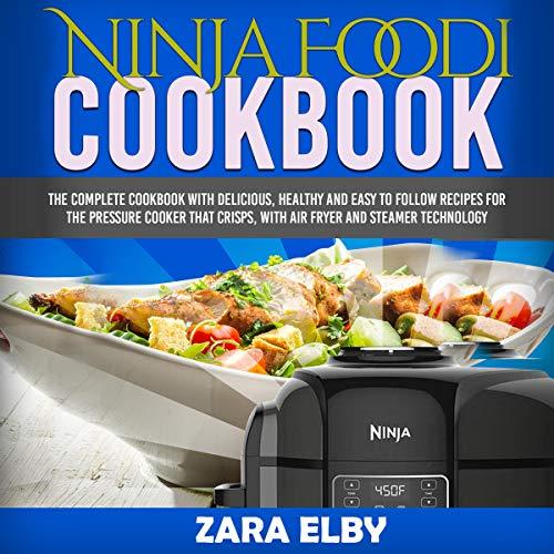 Ninja Foodi Cookbook audiobook cover art