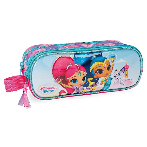 Estuche Shimmer and Shine Twinsies doble compartimento