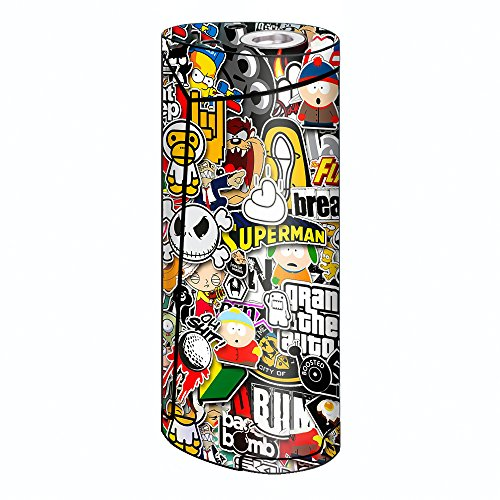 Skin Decal Vinyl Wrap for Smok Priv V8 60w Vape stickers skins cover/ Sticker Slap