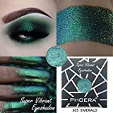 Lotus.Flower PHOERA 36 Colors Customize Glitter Eye Shadow Powder Palette Single Shimmer Pigmented Matte Eyeshadow Cosmetic Cosmetic Makeup (29)