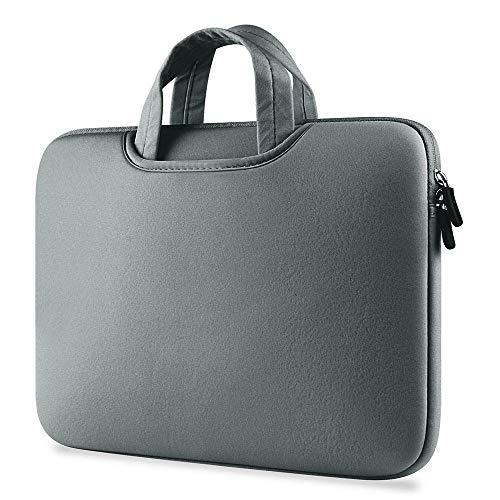 Práctico Bolso de la Funda de la Funda de la Bolsa de la Bolsa de la Bolsa de portátil Universal Bolso de Cuaderno a Prueba de Golpes para MacBook Air Pro 11 13 14 15 Pulgadas