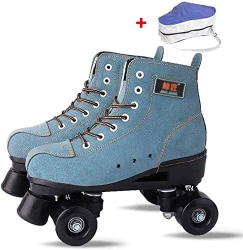 ZHZH Adult Roller NEW Skates Skate Gear Faux Ro Tampa Mall Soft Classic Leather