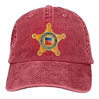 Dimensions: Hauteur du chapeau: 9 cm (3,54 pouces), bord du chapeau: 7 cm (2,75 pouces), circonférence du chapeau: 55-59 cm Ce motif est imprimé sur le chapeau (non brodé, veuillez acheter avec soin). Matière: Denim de coton teint lavable (simple cou...