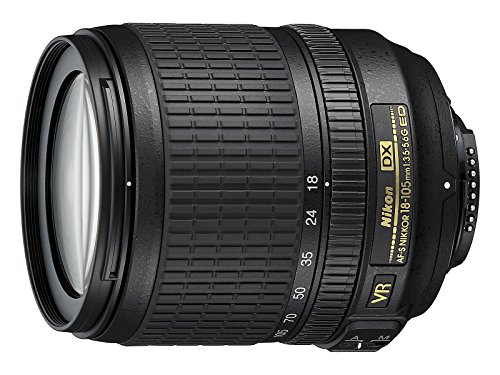 Nikon AF-S DX NIKKOR 18-105mm f/3.5-5.6G ED VR Lens (Generalüberholt)