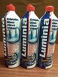 LIMPIACRISTALES 3 Unidades luminia Microtech de 750 ml