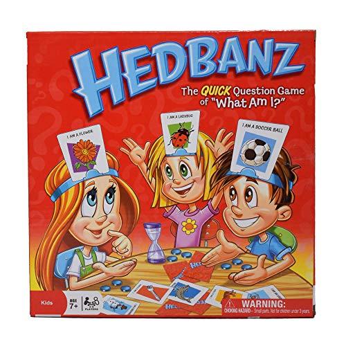 Games Spin Master - Hedbanz, Juego de Preguntas, versión en inglés