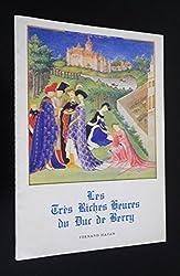 Les très riches heures du Duc de Berry de Cazelles Raymond