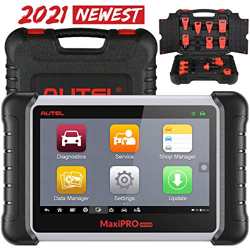 Autel MaxiPro MP808K Diagnostic Scan Tool, 2021 New Upgraded Ver. of MP808, DS808, 30+ Services, Full Diagnostics, Bi-Directional Control, Injector Coding, ABS Bleed, Oil Reset, EPB, DPF[Original]