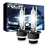 RCP HIDバルブ 車用ヘッドライト D4S/D4R汎用 純正交換 35W Xenon HID 6000K 発光色選択可能 明るさアップ 加工なし 2年保証 2個入り RCP-D4C