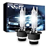 RCP D4S 6000K Xenon HID Replacement Bulb Diamond White Metal Stents Base 12V