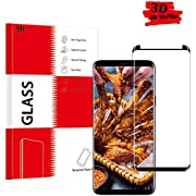 Panzerglas Schutzfolie für Samsung Galaxy S8 Plus, KUTUKU Qualität 3D Gehärteter Glas panzerfolie [Ultra Klar] [Anti-Kratzen] [Anti-Fingerabdruck] 3D Displayschutzfolie Folie für Samsung Galaxy S8 Plus