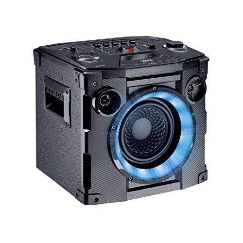 Mac Audio MMC 750 | Bluetooth-Party-Lautsprecher mit USB, SD und UKW | Transportable Soundanlage für Outdoor und Unterwegs - schwarz
