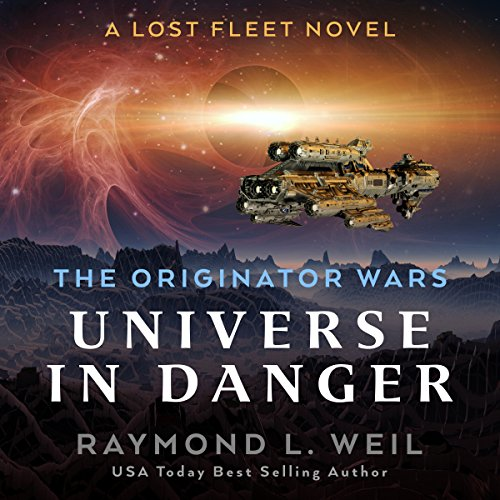 Universe in Danger audiobook cover art