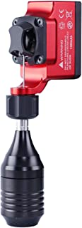 Extreme Rotary Tattoo Machine Wireless Battery Direct Drive Rotary Machine with grip Red Color