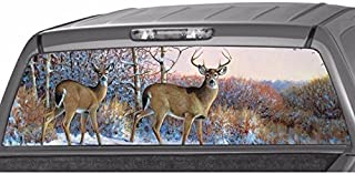 Deer in The Forest Rear Window Graphic Decal Tint Sticker Truck suv ute (large 22