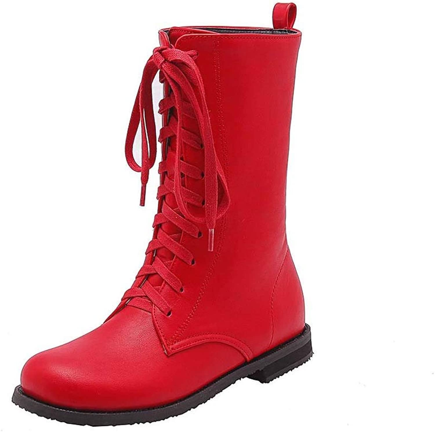 Women's Boots Wild Size 34-43 Boots Yellow, Red, Black