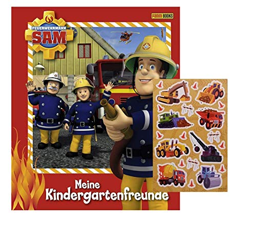 Panini Verlag Feuerwehrmann Sam: Meine Kindergartenfreunde für Jungs, ab 3 Jahren + 1 Kinder-Stickerbogen