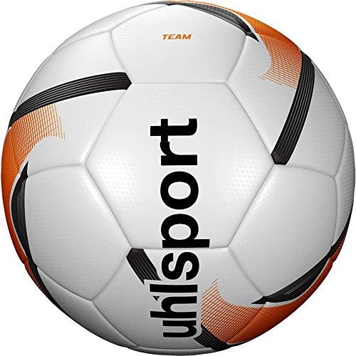 Uhlsport Team Footballs JUVENTUS Unisex, White/Fluo Orange/Black, 5