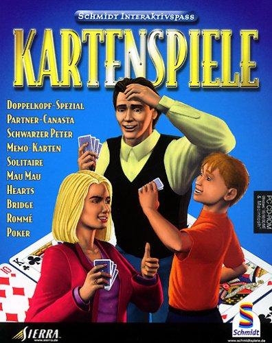 Kartenspiele, 1 CD-ROM Doppelkopf-Spezial, Partner-Canasta, Schwarzer Peter, Memo-Karten, Solitaire, Mau Mau, Hearts, Bridge, Romme, Poker. Für Windows 95/98/2000/Me und MacOS 7.5.3