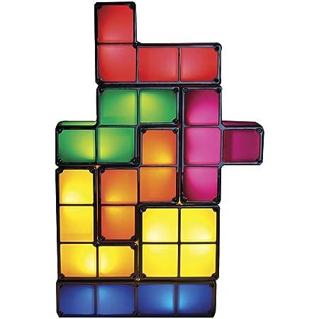 Tetris Lamp Stackable LED Table Light Mood Light Retro Tetris Lamp