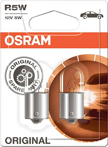 Osram 5007-02B Glühlampe, Double Blister, Set of 2