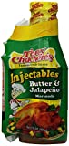 Tony Chachere Injectable Marinades with Injector, 17 Ounce (Pack of 6)