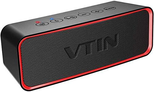 VTIN R2 Altavoces portátiles Bluetooth, Altavoz portátil IPX6 a Prueba de Agua, 14W...