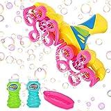 Ucradle Seifenblasenmaschine für Kinder, Seifenblasen Maschine Kinder mit 2X118ml...