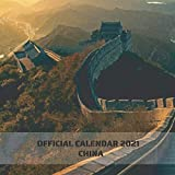 """China: 2021 Wall Calendar, Mini Calendar, 7""""x7"""", 12 Months, The Most Beautiful Places in China"""