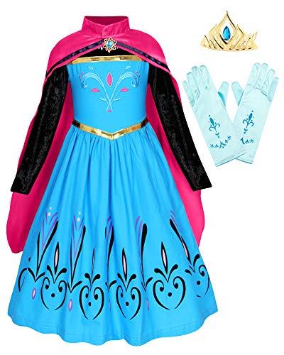 HenzWorld Little Girls Clothes Dresses Queen Princess Costume...