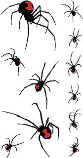 Qqinghan 3D Spider Tatoo Scorpion Tijdelijke Stickers voor Halloween Fake Tattoo Body Art Joke (Color : RC 416)