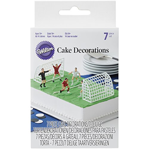 Wilton 03-9002 Set Calcio, Multicolore, 4.06x12.7x17.78 cm