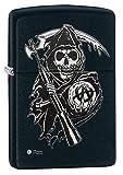 Zippo 2.003.710 Feuerzeug Sons of Anarchy, SOA, schwarz matt