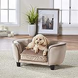 Enchanted Home Pet Coco Beige Pet Sofa