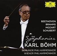 Ludwig van Beethoven - Johannes Brahms - Wolgang Amadeus Mozart - Schubert The Symphonies by Karl B枚hm (2013-04-19)