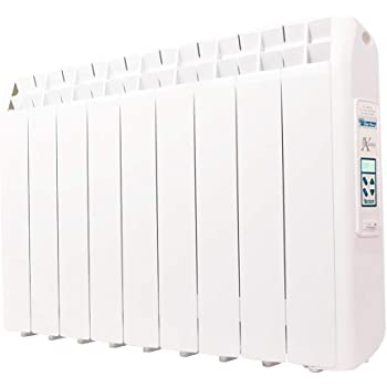 farho Radiador Eléctrico Bajo Consumo XP (Xana Plus) 990W (9) · Emisor Térmico con Termostato Digital Programable 24/7 · WiFi Opcional · Ideal para Estancias hasta 17m2· 20 AÑOS DE GARANTÍA