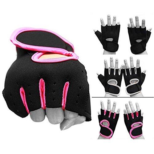 Bazaar Haltérophilie gants de cuir rembourrés musculation fitness vélo