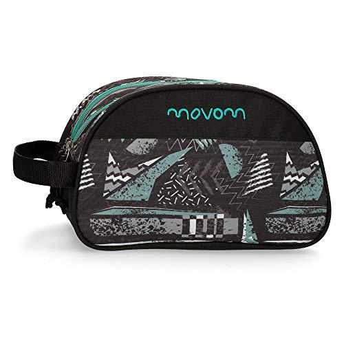 Trousse deux compartiment adaptable Movom Arrow