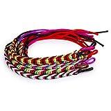 9pcs Bracelets Brsiliens Bracelets de Chevilles Bracelet Hippie Fil Tress Color - Couleur Alatoire