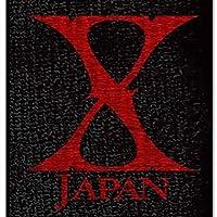 エックスジャパンX JAPANX JAPAN WORLD TOUR 2015-2016公式グッズパイル生地両面刺繍リストバンド/レッド×ブラック品