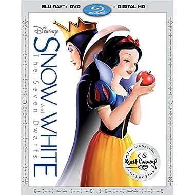 Snow White and The Seven Dwarfs [Blu-ray/DVD/Digital HD]