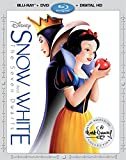 Snow White and The Seven Dwarfs [Blu-ray/DVD/Digital HD]
