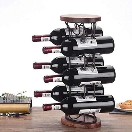 Métal Casier à vin |casier à vin |casier à vin |casier à vin antique |Râtelier de stockage d'étagère murale |casier à vin
