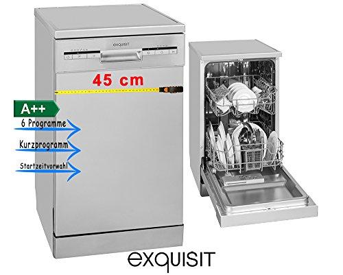 Exquisit GSP 9109.1 Geschirrspüler/A++