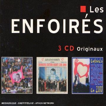 Coffret 3 CD : Le Zénith des Enfoirés / Dernière Edition avant l\'an 2000 / Les Enfoirés en 2000