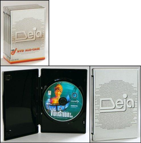 5 Deja DVD CD Hüllen/Box aus Aluminium