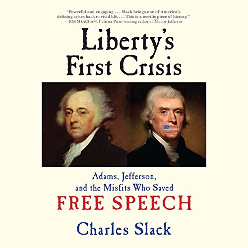Liberty's First Crisis audiobook cover art
