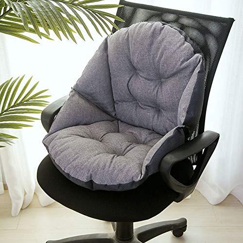 JanIST steun taille rugleuning pad stoel kussen, dikker mand stoel kussen voor rolstoel stoel auto stoel ligstoel bureaustoel terras