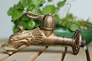 Bathroom Sinks,faucets & Accessories Bathroom Fixtures Cheap Price Decorative Outdoor Faucet Rural Animal Shape Garden Bibcock With Antique Bronze Fish Tap For Garden Washing